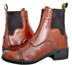 This is one of my favorites on Gee Gee Equine Equestrian Boutique: Hoof & Woof: Paddock Boots - Zip