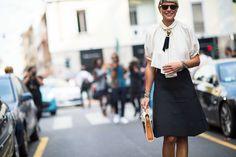 Milan Fashion Week Spring 2014 Street Style - Milan Fashion Week Spring 2014 Street Style, Day 5