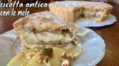 RICETTA ANTICA CON LE MELE - YouTube Italian Cookie Recipes, Sicilian Recipes, Italian Cookies, Sicilian Food, Ginger Bread Cookies Recipe, Almond Cookies, Chocolate Cookies, Pie Co, Christmas Coffee