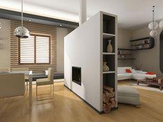 Cool Home Interior Design: Room Partitions Storage ~ Decoration Inspiration