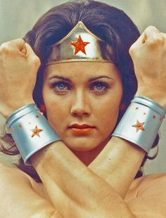 Wonder Woman, OMG, can't believe we watched this and thought it was cool.