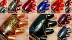 Let them have Polish!: O.P.I Skyfall Collection Swatches