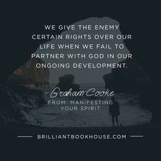When we don't partner with God, we often give the enemy rights over our life…