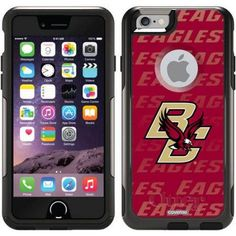 Boston College Repeating Design on OtterBox Commuter Series Case for Apple iPhone 6