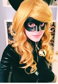 it took me 4729 years but I'm finally, finally, FINALLY finished with lady chat noir. Halloween Goodies, Halloween Party Costumes, Cool Costumes, Costume Ideas, Amazing Cosplay, Best Cosplay, Lady Bug, Dramatic Hair, Marinette And Adrien