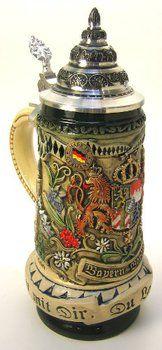 Bavarian German Beer Stein