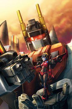 Windblade #1 - Combiner Wars by yamiza.deviantart.com on @DeviantArt