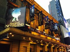 Finding Neverland on Broadway @playbill