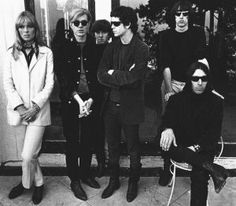 Andy Warhol & The Velvet Underground with Nico. - Andy Warhol & The Velvet Underground with Nico. The Velvet Underground, Best Rock Bands, Cool Bands, Andy Warhol, Veronica Castro, Roxy Music, Music Music, Music Stuff, We Will Rock You