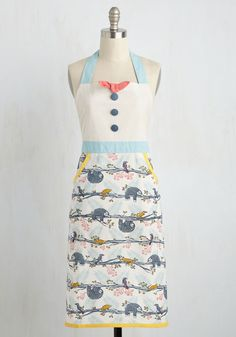 Slow-Cooked to Perfection Apron. With this printed apron tied behind your back, youll want to take your time in the kitchen! #multi #modcloth