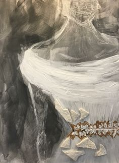 Acryl on canvas. Details of handmade porcelain pieces inspired with lace. Art Pieces, Porcelain, Inspired, Canvas, Lace, Artwork, Handmade, Painting, Inspiration
