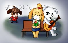 Animal Crossing New Leaf - KKxIsabelle - NO DIGBY by Sanoshi.deviantart.com on @deviantART