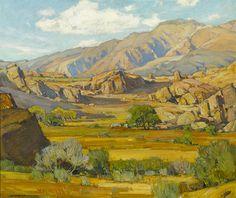 William Wendt     Rocky Desert Mountains      SHEAR [in-spuh-rey-shuhn] : Photo