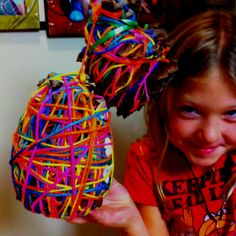 kinda looks like an easter egg.Easter craft for the kids Pinecone Crafts Kids, Pine Cone Crafts, Easter Crafts, Crafts For Kids, Art Fair, Pine Cones, Easter Eggs, Activities For Kids, Holiday
