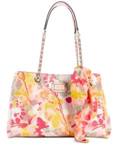 c45f01b71a GUESS Shannon Floral Girlfriend Satchel