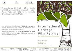Outeiro do Circo: Convite - Inauguração - Festival Heri Tales, Évora...