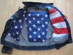 U.S. Special Force Military General 4 Stars Lee Jacket Jean x Baby $kin (Part. I)