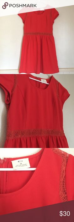 Pins and Needles Urban Outfitters dress NWOT Size 12 Pins and Needles brand via Urban Outfitters. Sheer lace at waist, shoulders and back. Thick, quality material that looks great dressed up or down. Urban Outfitters Dresses