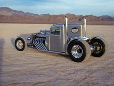 Silver hot rod