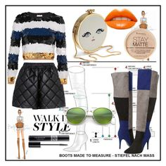 """WaLk iN sTyLe!"" by nvyjsh ❤ liked on Polyvore featuring STELLA McCARTNEY, Sonia Rykiel, Ashley Stewart, Rimmel, Christian Dior and Ray-Ban"