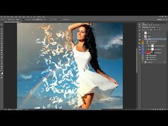 Feathers Photoshop Action Guide - YouTube