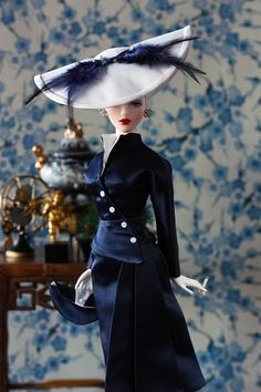 The Studio Commissary: The Bride Wore Navy by Ernesto.