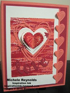 Tie Dyed Groovy Love Heart by Michelerey - Cards and Paper Crafts at Splitcoaststampers Valentine Day Cards, Valentines, Valentine Ideas, Cool Cards, Diy Cards, Paper Art, Paper Crafts, Heart Cards, Custom Tees