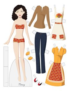 fashion paper dolls template google search paper dolls pinterest