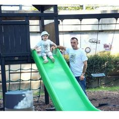 Koszulki tata syn  @boogiesilver Krzysztof i Leo 💙