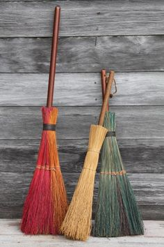 Vintage Hearth Broom Chimney Broom Etsy By Redposie