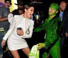 Pin for Later: Die besten Fotos der Kids' Choice Awards Olivia Culpo und Nick Jonas