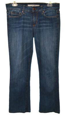 JOE'S JEANS Womens 27 6 Dark Wash Socialite Boot Cut Denim Jeans  #JoesJeans #BootCut