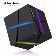 Buy EtoBesy Bluetooth Speakers with Colorful LED Light, Mini Portable Wireless Speaker Stereo Magic Cube Music Player Hand-Free Speaker for iPhone Samsung Player Tablet Laptop Computer (Black) Subwoofer Speaker, Mini Bluetooth Speaker, Stereo Speakers, Portable Speakers, Sound Speaker, Samsung Galaxy S6, Samsung Laptop, Iphone 7, Boombox