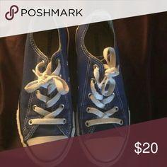 Converse Blue size 7 Converse Shoes Sneakers
