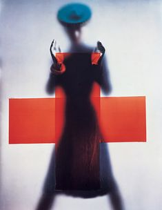Red Cross campaign for Vogue -- Erwin Blumenfeld, 1945