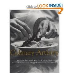 Culinary Artistry, a must have for serious cooks.