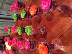 Cupcake display for party! Super cute!