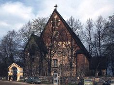 Maarian kirkko. Kuva: MV/RHO 8/17385 Marja-Terttu Knapas 1980