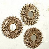 Suzanne Kasler Sunburst Mirror - Set of 3