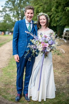 Rachel and Sam's Country Style Back Garden Tipi Wedding By Mr Sleeve