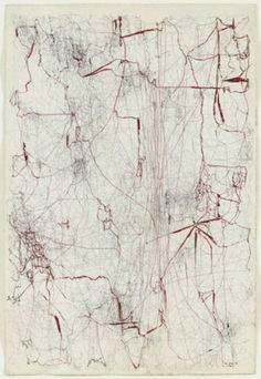 Sin titulo (Sermón de la sangre) (Untitled [Sermon of the Blood]): 1962 by Leon Ferrari (Museum of Modern Art, NYC)