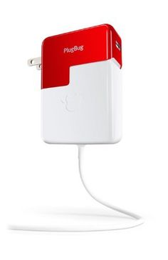 Twelve South PlugBug - All-in-one 2.1 amp iPhone/iPad charger with MacBook plug attachment, http://www.amazon.com/dp/B0062IM9EY/ref=cm_sw_r_pi_awd_zvZ1rb0WZKNY0