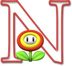 Alfabeto Mario Bros..N