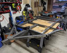 Richard's is a nice example of a customer welded trailer frame for a DIY Dinoot M416 Trailer project. Will be ready for Tventuring in no time. Overland Trailer, Drafting Desk, Compact, Camping, Nice, Frame, Projects, Home Decor, Campsite