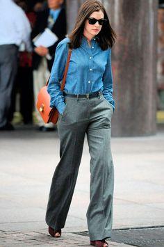 Los looks de Anne Hathaway en El Becario - TELVA.COM