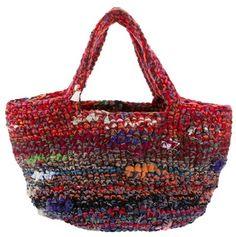 Daniela Gregis             Multicolor woolTote Bag                                                 Multicolour wool bag from Daniela Gregis featuring two top handles.