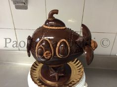 Chocolate ester eggs-Submarine-by Paolo Gariboldi Italy