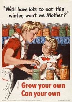 Myrtle and her mother grew fruit and veg to eat and preserve during the war. Myrtle still grows veg on her allotment.