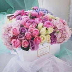รูปภาพจาก We Heart It https://weheartit.com/entry/162114366/via/18279211 #bow #chanel #color #colorful #colors #flowers #gentleman #gift #girl #present #roses #surprise