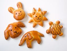 animal bread luv this idea !!!!! :)
